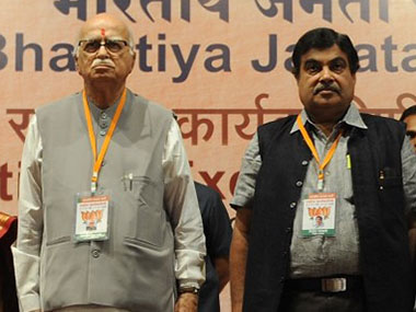 Party veteran LK Advani had reportedly no desire to see Gadkari become the next party president. AFP