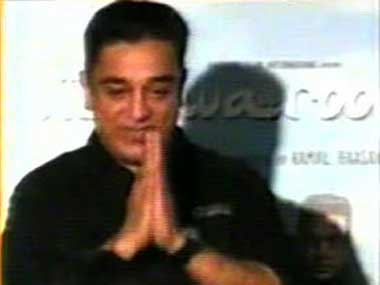 Kamal Haasan at the Press Conference