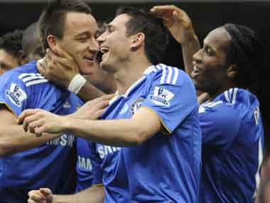 Lampard, Terry and Drogba are the most well known of Chelsea legends. Drogba has already left the team. Reuters