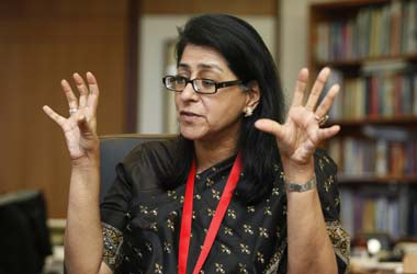 HSBC country head and Ficci president Naina Lal Kidwai. Reuters
