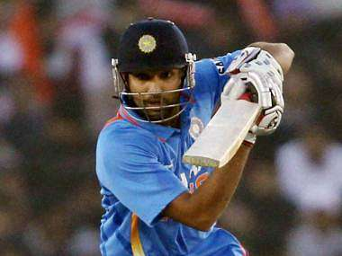 Rohit Sharma made 83 in the 4th ODI against England. PTI