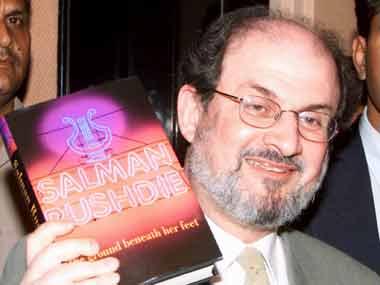 Salman Rushdie. Agencies.