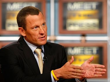 File picture of Lance Armstrong. Getty Images