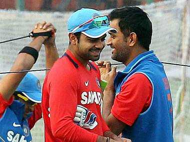 Dhoni needs all the support he can get. PTI