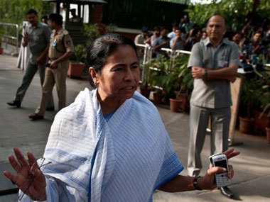 Mamata Banerjee, Chief Minister, West Bengal. AFP