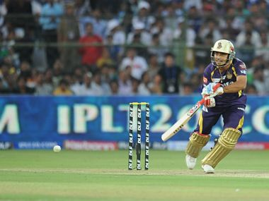 File photo of Rajat Bhatia from the IPL. AFP