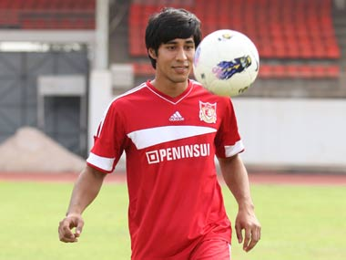 The 30-year-old has become the first foreigner to be selected in the Indian team after he obtained an Indian passport in August 2012. Image: Pune FC