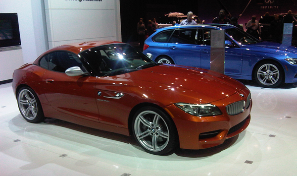 BMW Z4 Roadster. George Albert/Firstpost