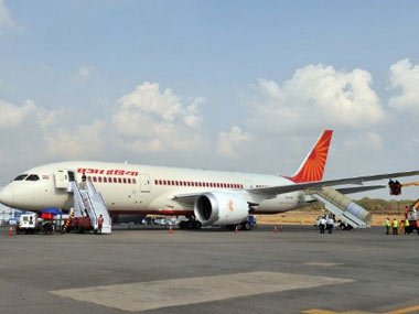 The Air India Dreamliner: AFP
