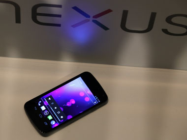 The Samsung Galaxy Nexus smartphone. Reuters