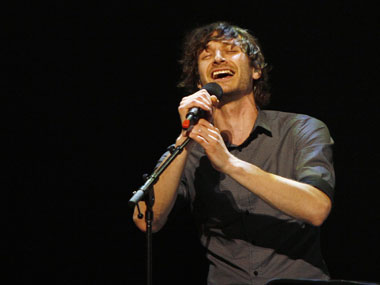 Gotye performed in India for the first time on Wednesday night. Reuters