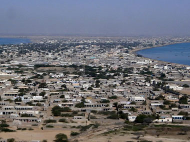 "Pakistani President Asif Ali Zardari said he hoped Gwadar would soon be a ""hub of trade and commerce in the region"". AFP"