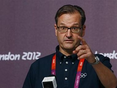 File photo of IOC spokesperson Mark Adams. Reuters