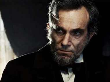 Daniel Day Lewis as Lincoln. Image courtesy: ibnlive