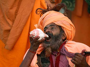 An image from the Maha kumbh Mela: AP