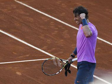 File picture of Rafael Nadal. AP