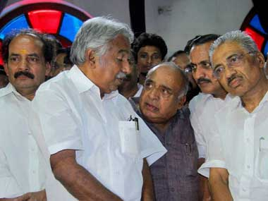 Kerala Chief Minister Oomen Chandy. PTI