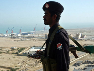 The onus of running this strategic port in Balochistan near the Iran border has been shifted from the Port of Singapore Authority to China's Overseas Port Holdings. AFP