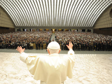 Benedict's personal security will be assured by Vatican police. Reuters