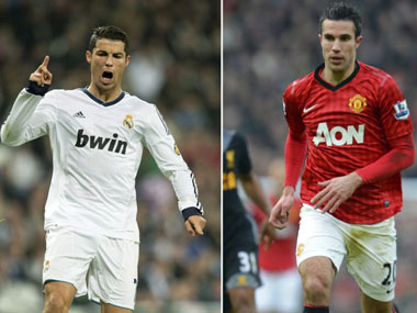 Who will shine at the Bernabeau — Ronaldo or Van Persie? AFP