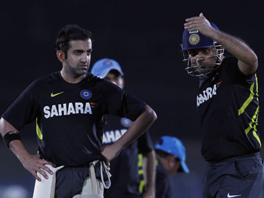 India have broken up the Virender Sehwag-Gautam Gambhir combination at the top of the order. Reuters