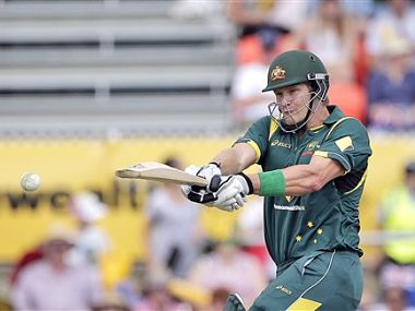Shane Watson marked his return with a game-winning century. AP