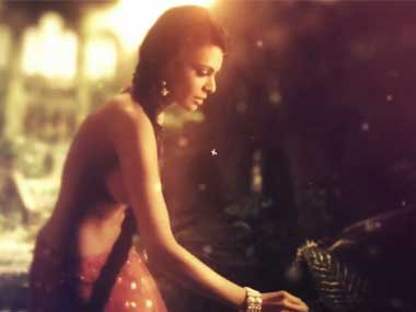 A screengrab from the trailer of Kamasutra 3d