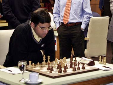 File photo of Anand. Reuters
