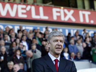 Arsenal manager Arsene Wenger deserves the fan's support despite recent poor results. AP