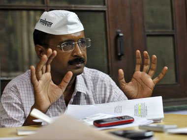 Presenting the bigger picture? Kejriwal may have his own television channel. Reuters