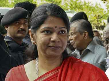 File image of DMK leader Kanimozhi. PTI