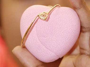 Diamond for the heart. AFP