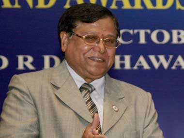 DRDO chief VK Saraswat. Image courtesy PIB