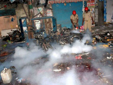 Even after the Dilsukhnagar blasts, police were quick to conclude that it was the handiwork of IM. PTI.