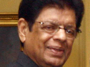 Minister of State for External Affairs E Ahamed. Image courtesy PIB