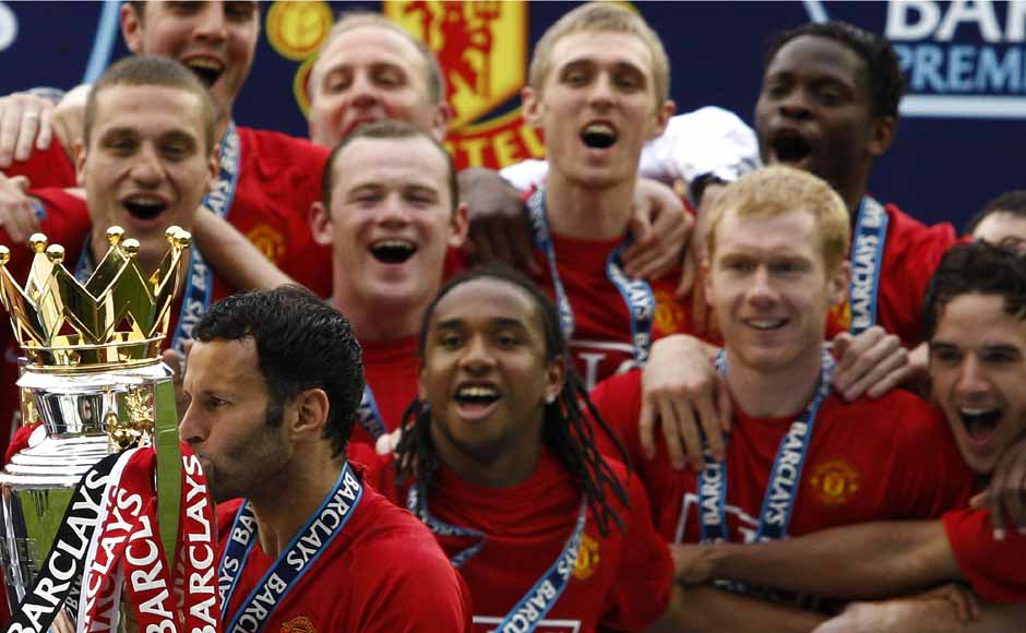 Giggs scored a vital goal for United to seal the 2008 Premier League title. He has won a total of 12 EPL titles so far and is looking good for a 13th. Reuters