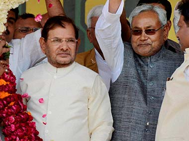 Nitish Kumar looks to the Centre as the ultimate 'bestower'.  PTI