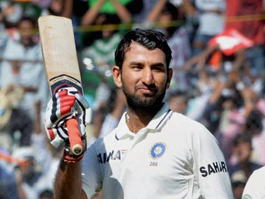 Pujara got to his second double ton before being dismissed. PTI