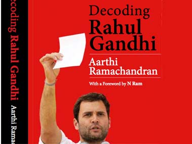 Decoding Rahul Gandhi: Book cover