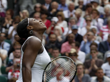 Serena Williams: Reuters