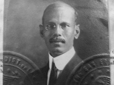 Roston Ally, another member of the Hooghly peddler network who operated in Atlantic City, New Jersey and in New Orleans, Louisiana, around the turn of the twentieth century. Image source: US National Archives