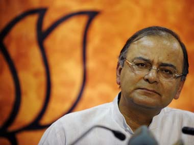Senior BJP leader Arun Jaitley. AFP