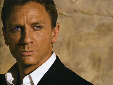 Daniel Craig as James Bond. Image from Facebook