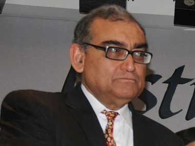 Press Council of India chairman justice Markandey Katju. Image courtesy PIB