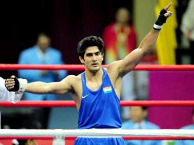 Vijender Singh cannot be tested for heroin outside of a competition, according to NADA. AFP