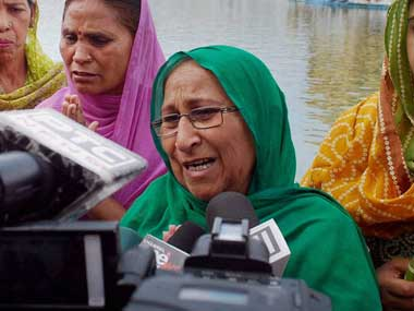 File photo of Dalbir Kaur. PTI