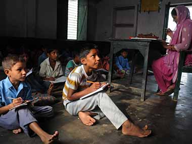 Economically Weaker Sections have to get access to the unaided schools. AFP.