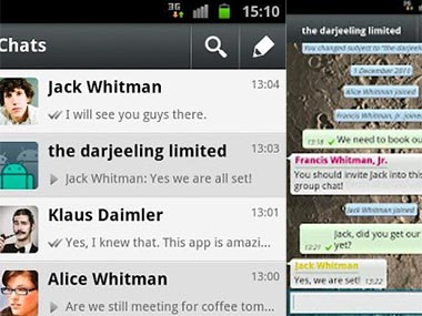 how to call a tablet which has whatsapp whatsapp