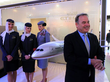Etihad-Jet deal led aviation to be the top sector in M&A, accounting for 23 percent of the total value