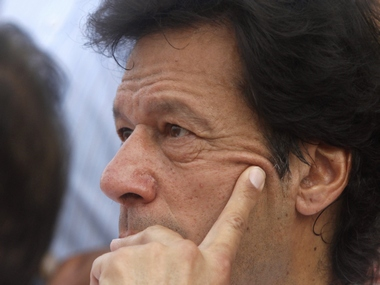 Former Pakistan cricket star Imran Khan. Reuters